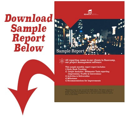 Download a sample of the kind of reporting your clients can expect every month.