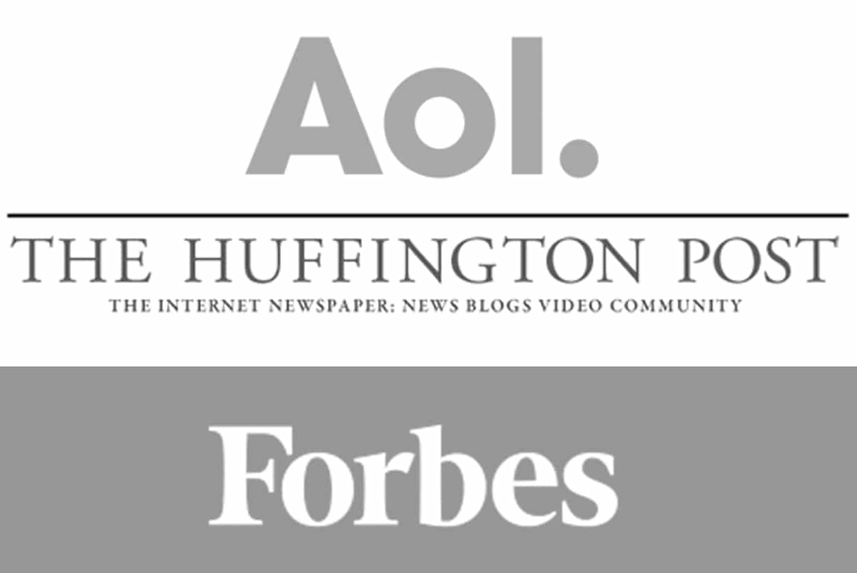 Forbes, AOL and Huffpo
